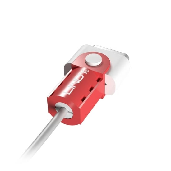 PROTECTIE PENTRU CABLU DE INCARCARE MAGNETIC MAGSAFE 2 ROSU, LINDY L31401