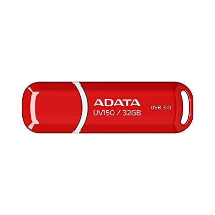 STICK USB 3.1 32GB ADATA UV150 RED, AUV150-32G-RRD