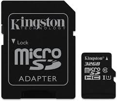 CARD DE MEMORIE MICRO SD CANVAS SELECT 32GB CLASA 10 + ADAPTOR SD, KINGSTON SDCS/32GB