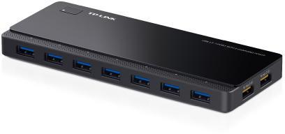 HUB USB 7 X USB 3.0 + 2 PORTURI ALIMENTARE, TP-LINK UH720